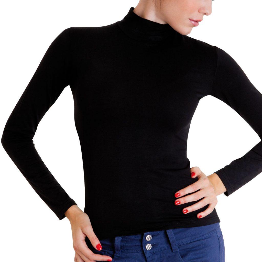 Cotonella – Hosszú ujjú női garbó